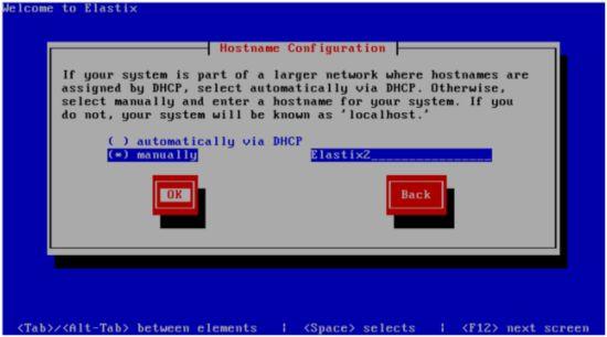 Настройке сетевой карты Elastix 3