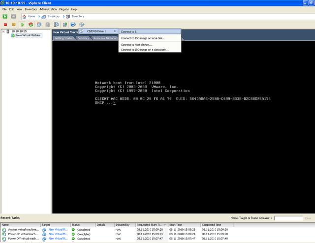 Инсталляция FreeBSD на Vmware vSphere ESXi
