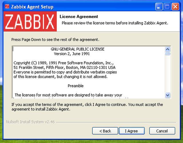 zabbix agent setup